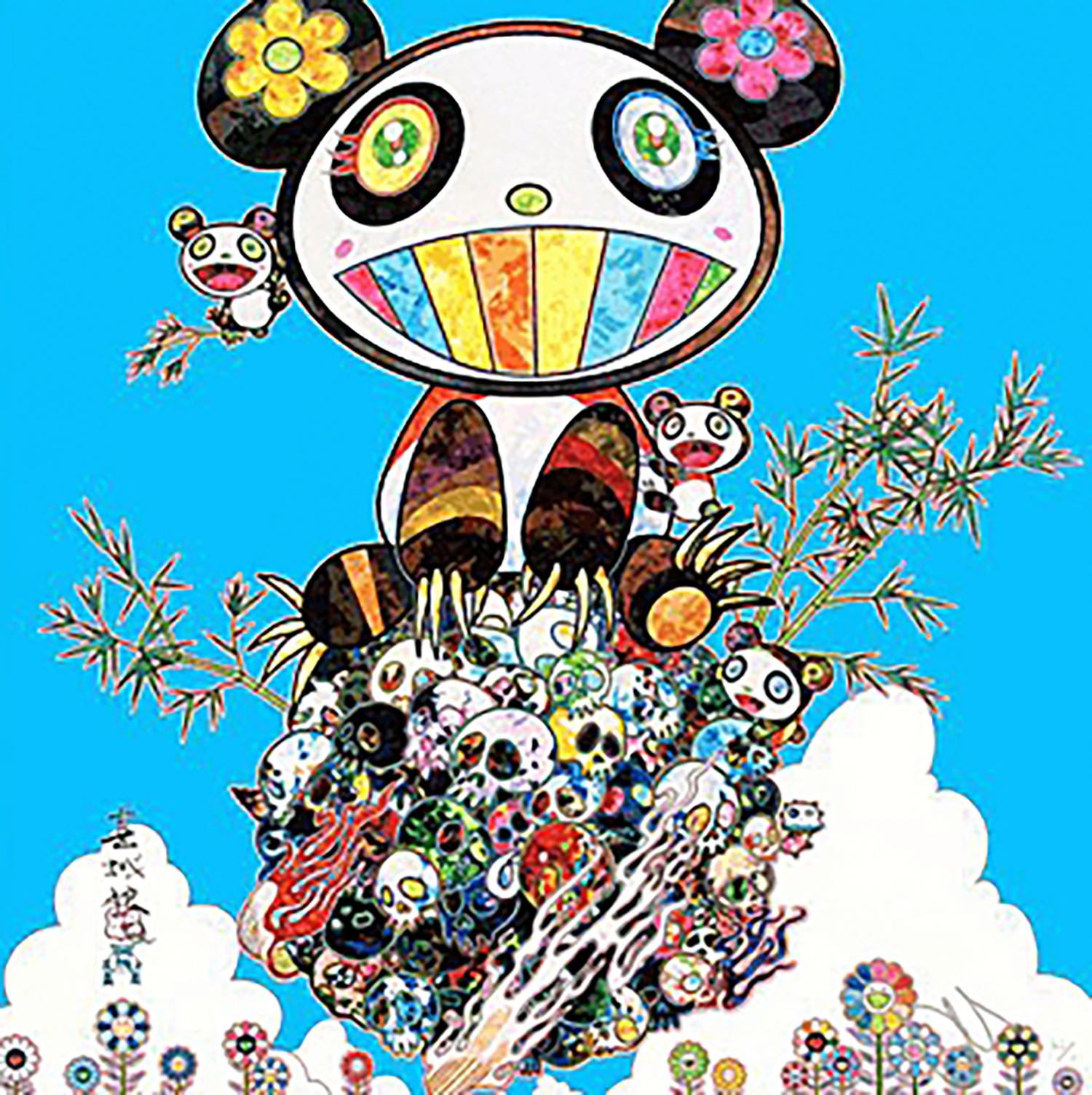 村上隆 Panda Family Happiness
