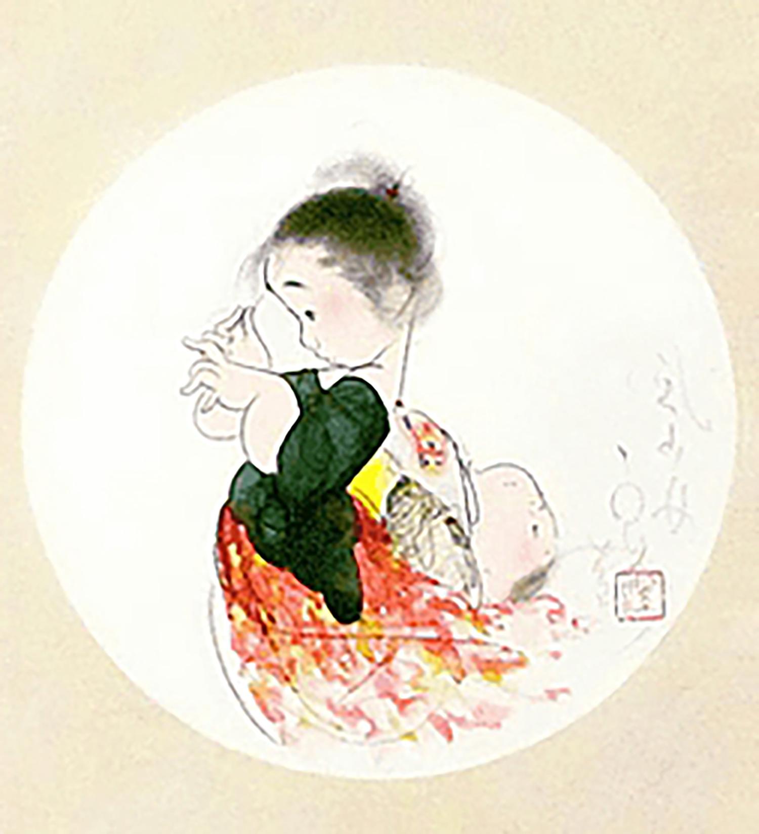 中島潔 風少女