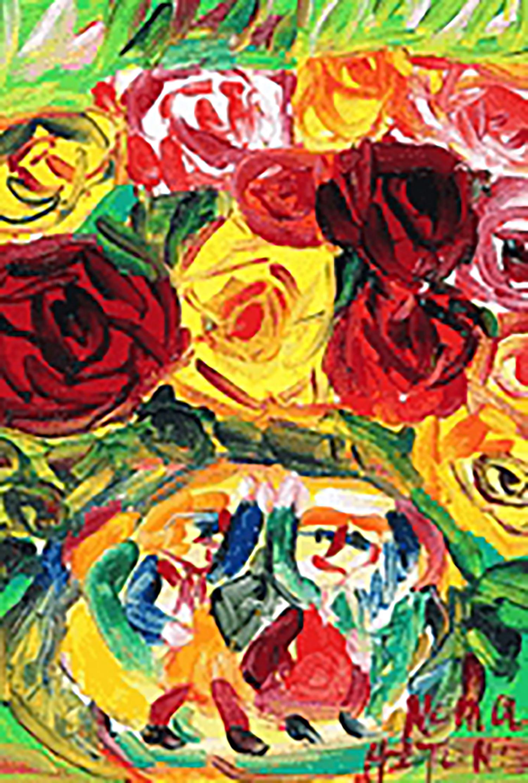 野間仁根 薔薇