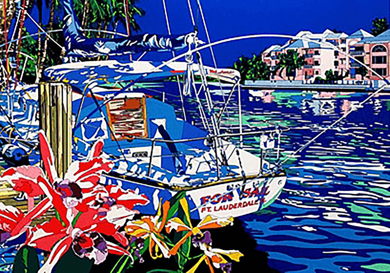 鈴木英人 ヨットと過ごした夏の懐かしい日々