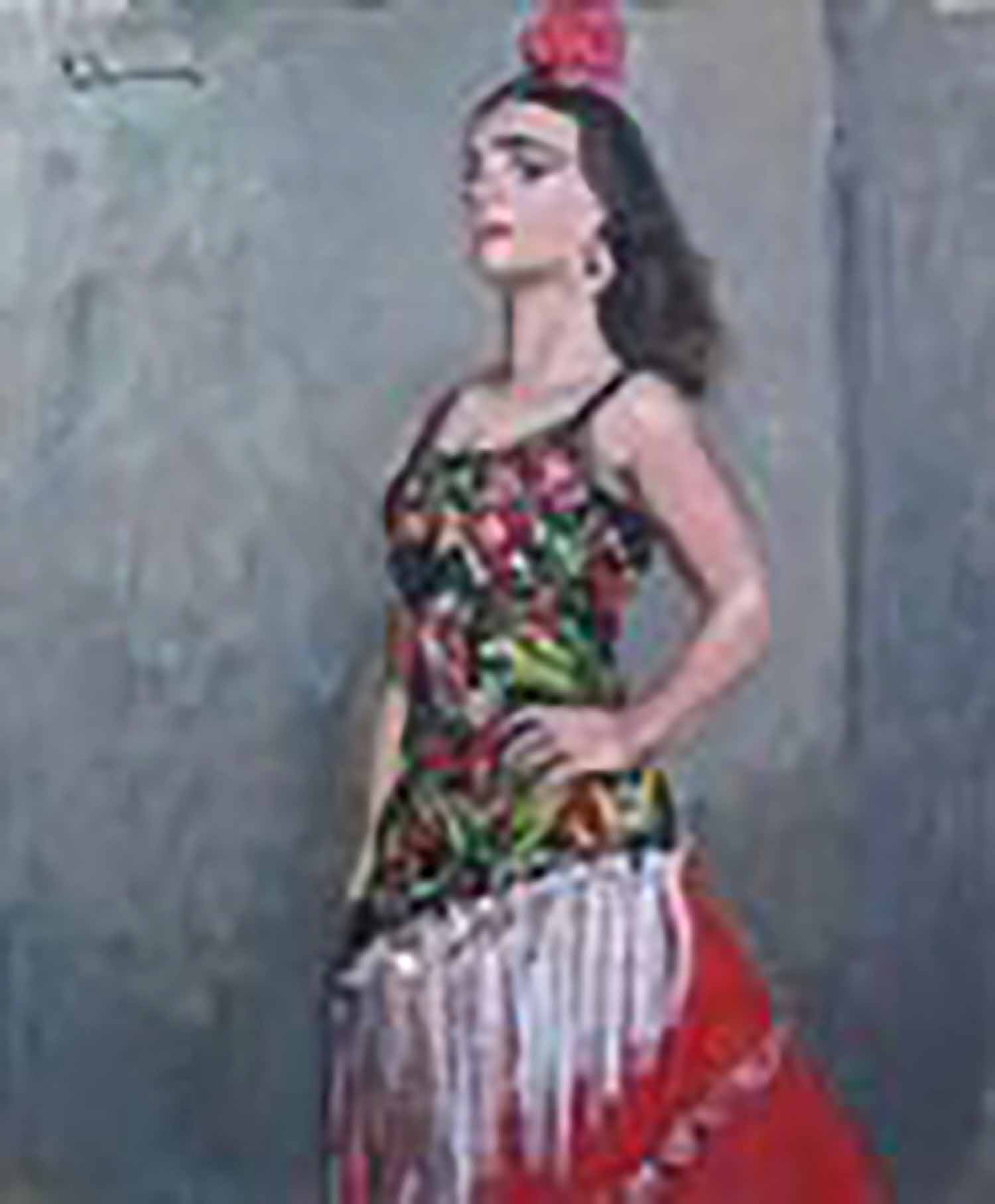 田村孝之介 スペインの踊り子