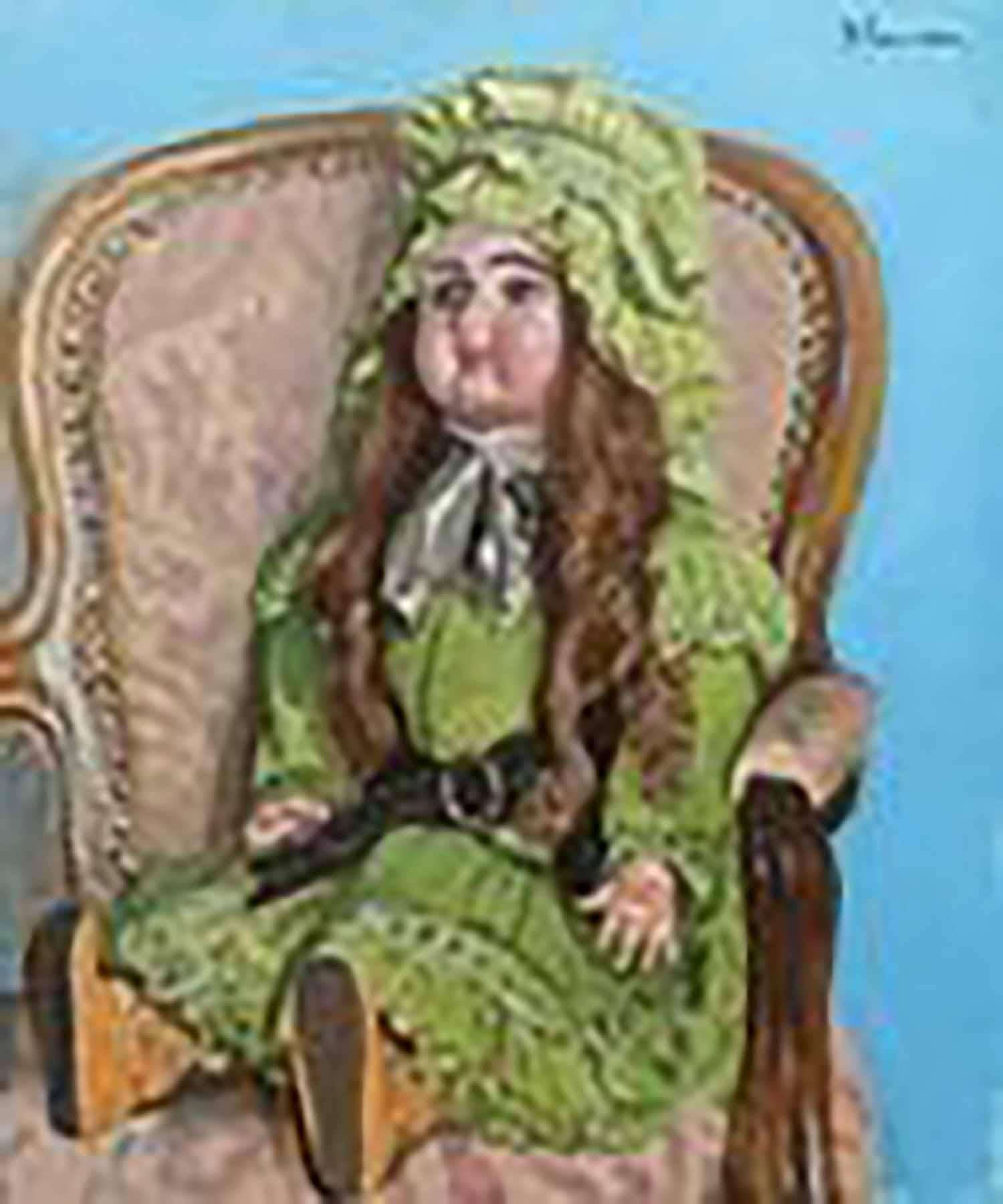 田村孝之介 椅子の人形