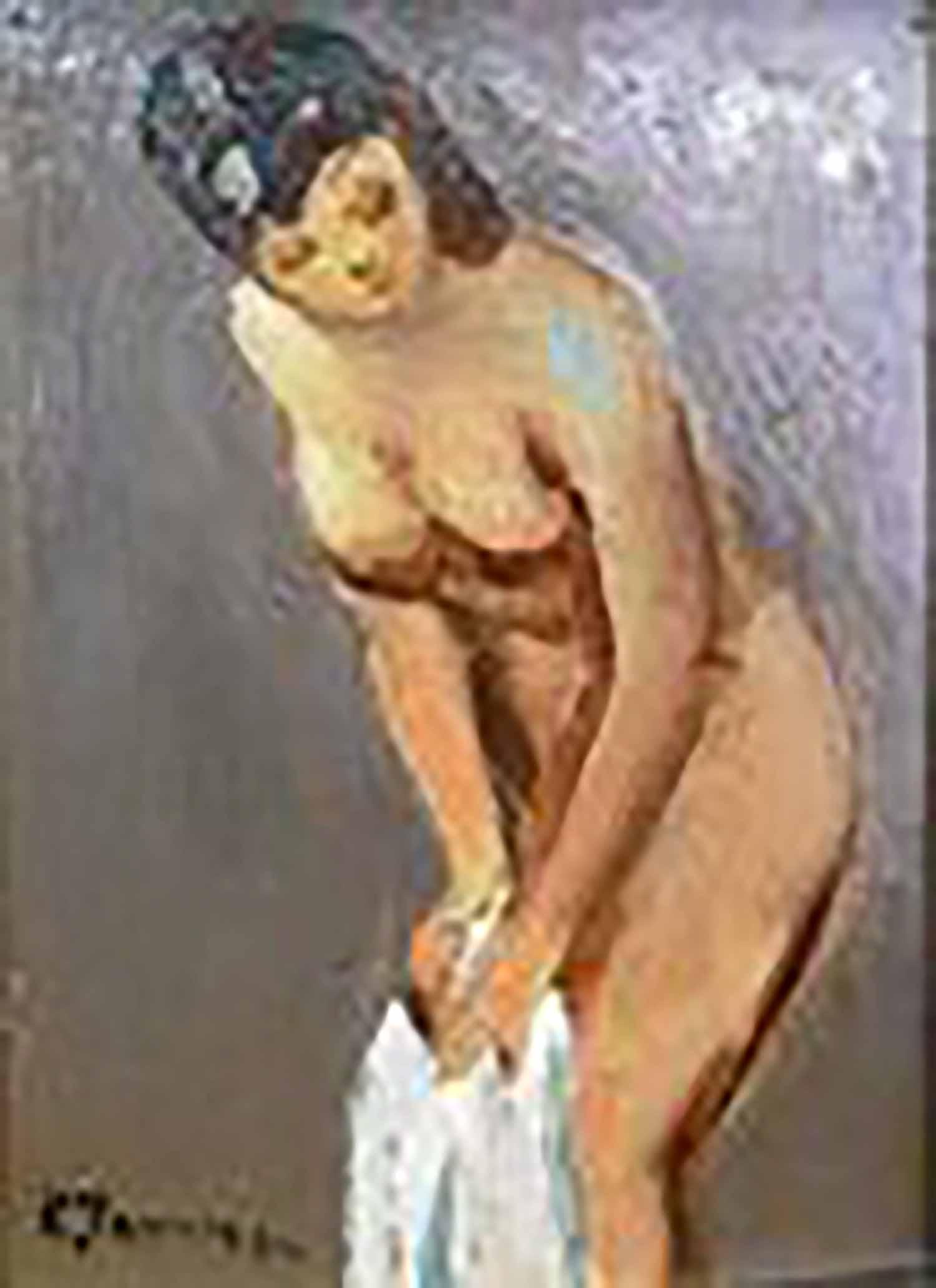 田村孝之介 裸婦