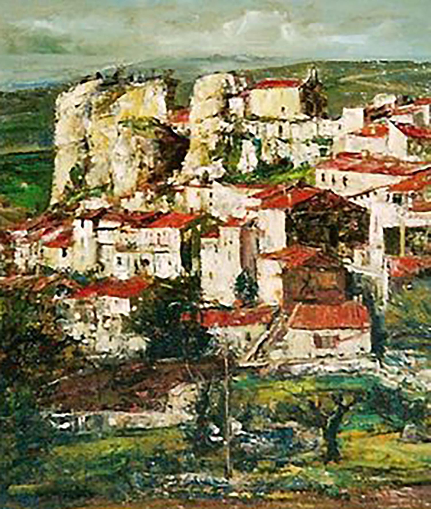 浮田克躬 丘陵と古い村