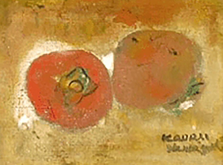 山口薫 柿