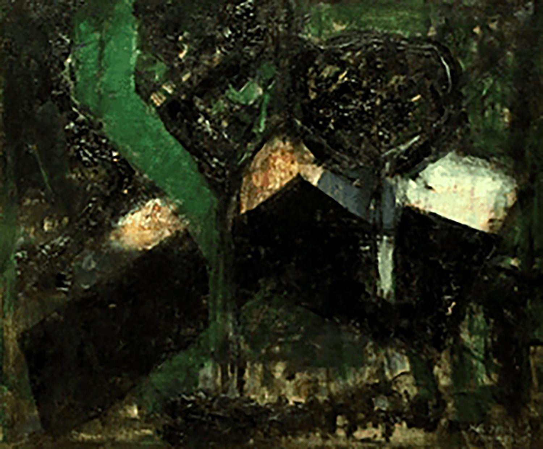 山口薫 黒い樹陰