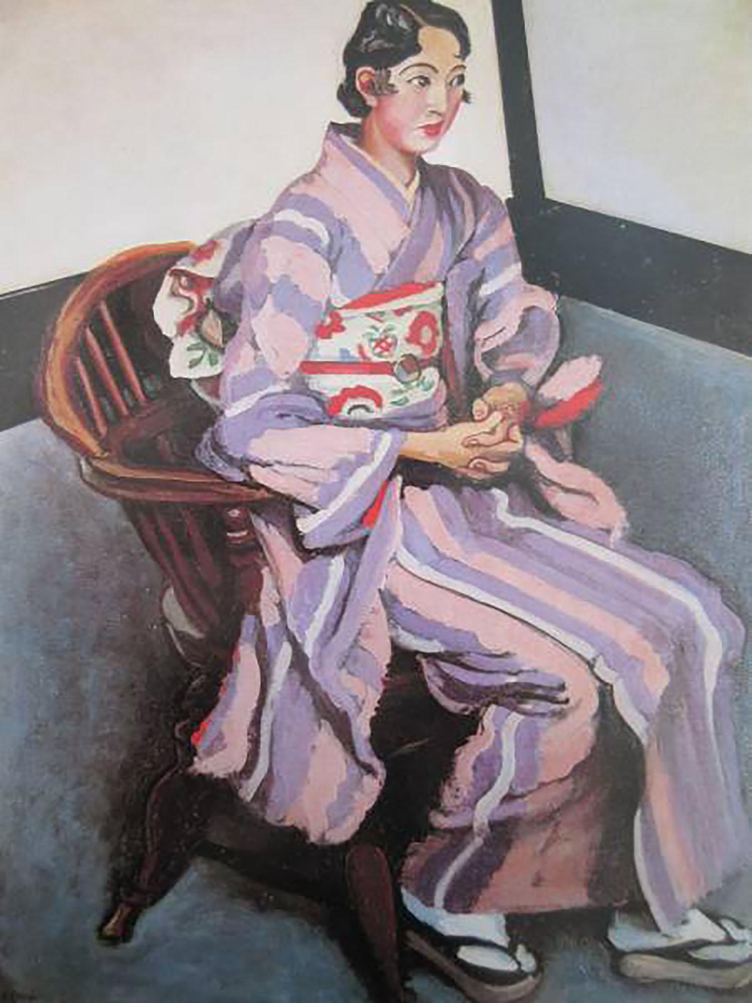 安井曾太郎 婦人像